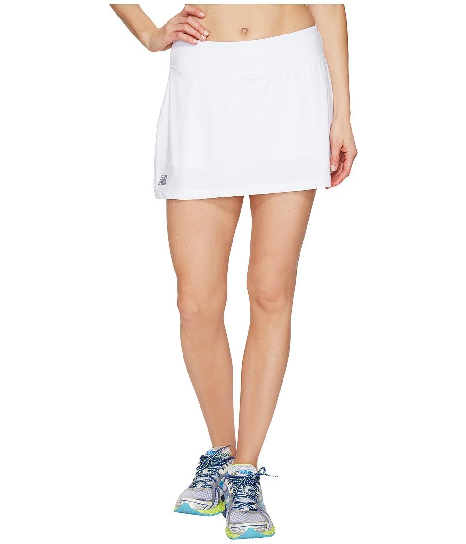 New Balance Casino Skorts (White) Women