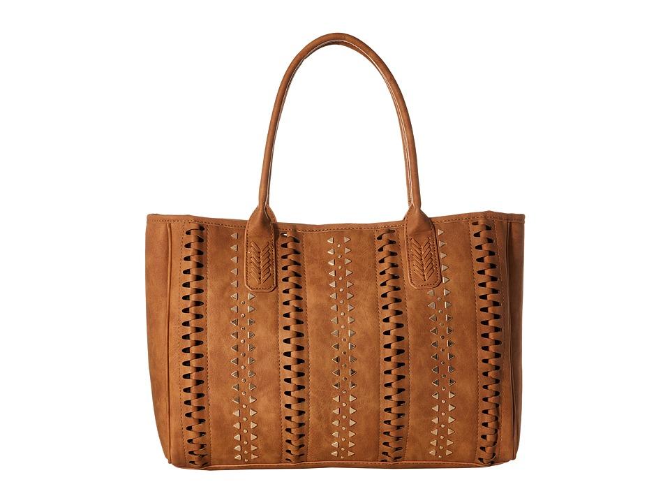 Steve Madden - Bhunterr Tote (Tan) Tote Handbags