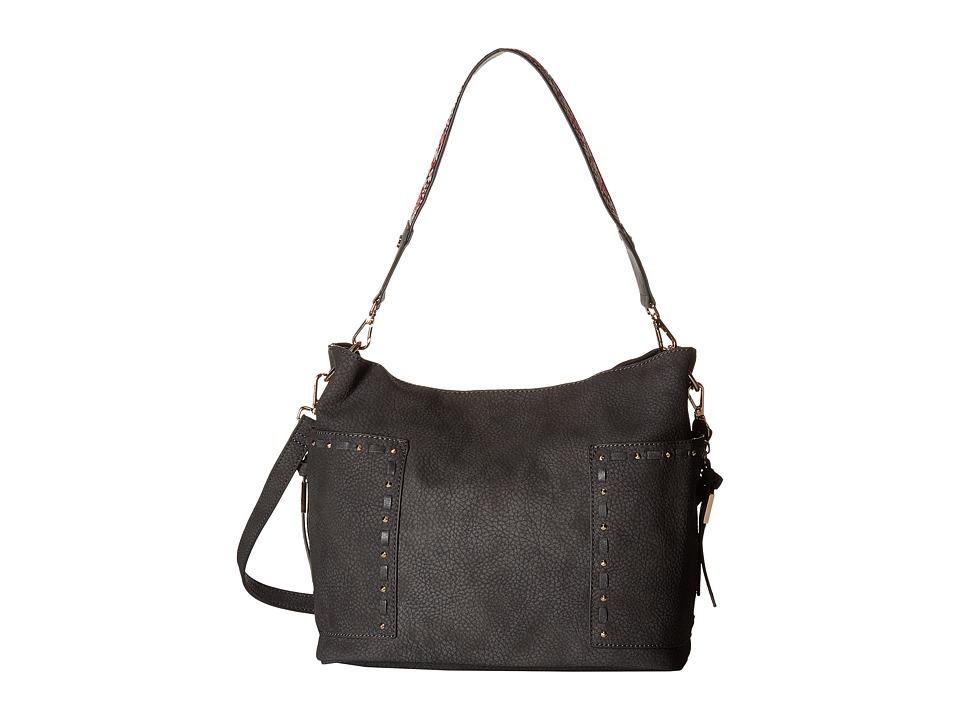 Steve Madden - Bkailyn Koltt w/ Guitar Strap (Charcoal) Handbags