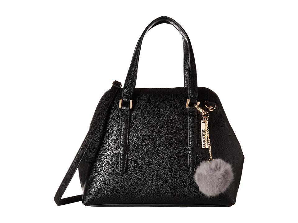 Steve Madden - Bjade Peekaboo Satchel (Black) Satchel Handbags