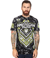 American Fighter - North Dakota Artisan Short Sleeve Camo Crew Tee