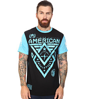 American Fighter - Alaska Scribble Short Sleeve Paneled Crew Tee