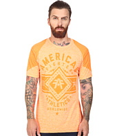 American Fighter - Black Burn Short Sleeve Crew Tee