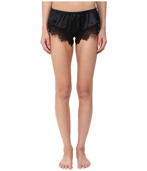 Emporio Armani Sexy Satin and Lace Shorty - Black