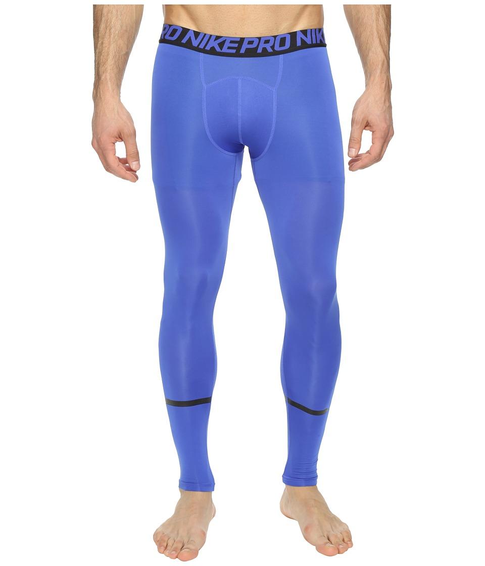 Nike Pro Swoosh Compression Tight (Paramount Blue/Black) Men