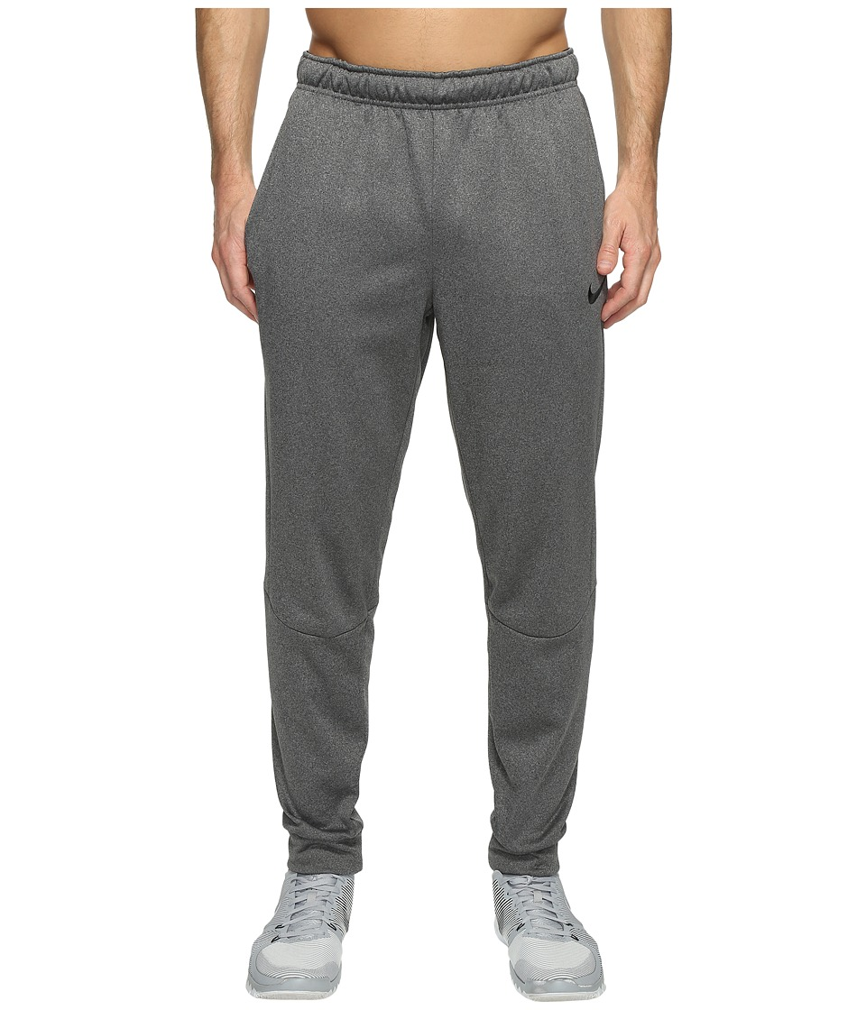 Nike Therma Tapered Training Pant (Charcoal Heather/Black) Men