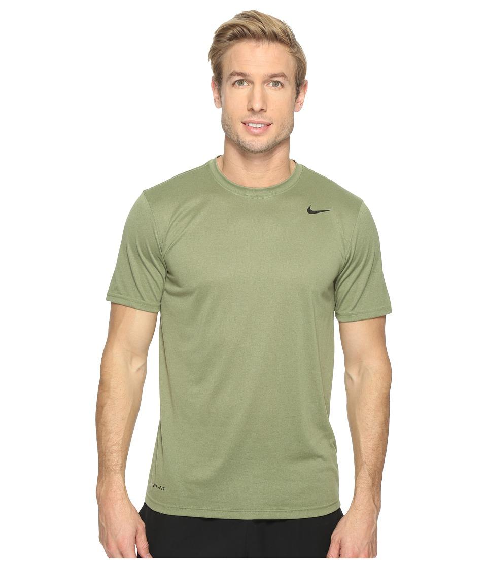 Nike Legend 2.0 Short Sleeve Tee (Palm Green/Black) Men