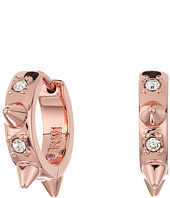 Rebecca Minkoff - Studded Huggie with Pave Earrings
