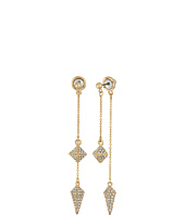 Rebecca Minkoff - Dangling Stud and Spike Front/Back Earrings