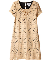 Us Angels - Laser Cut Suede Dress (Big Kids)