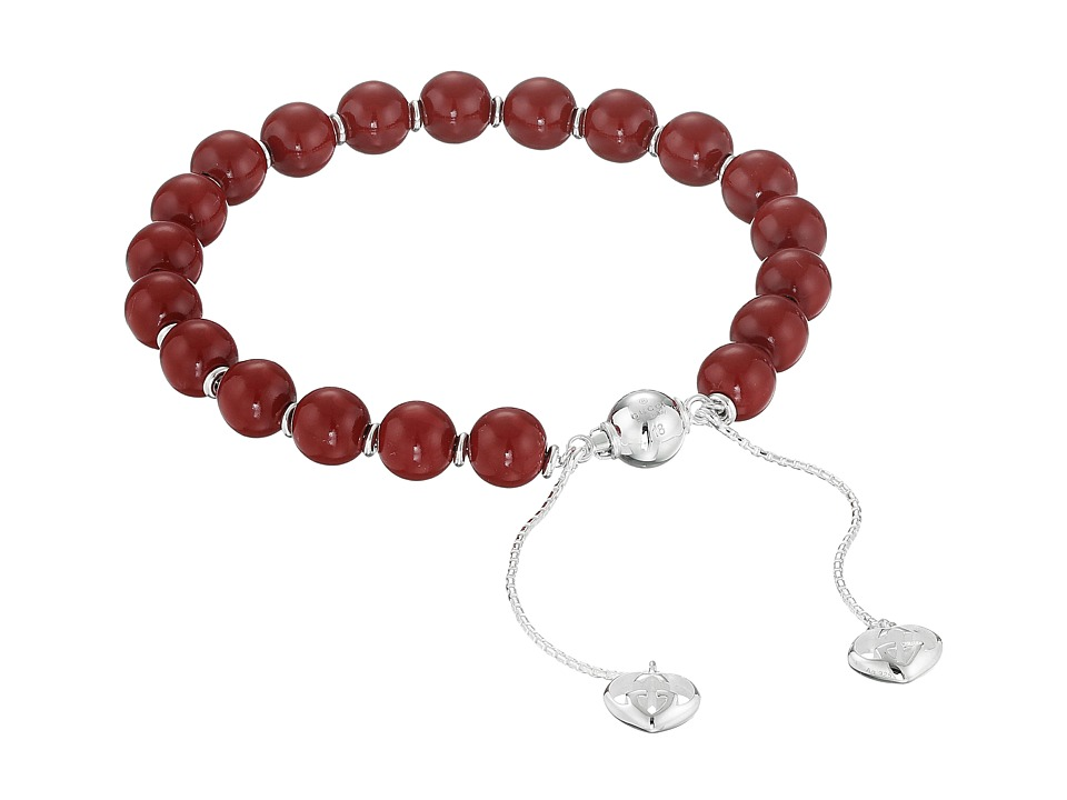Gucci San Valentino Bracelet (Silver/Red) Bracelet
