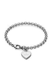 Gucci - Trademark Bracelet w/ Heart Charm