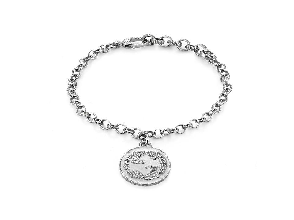 Gucci Coin Bracelet (Silver) Bracelet