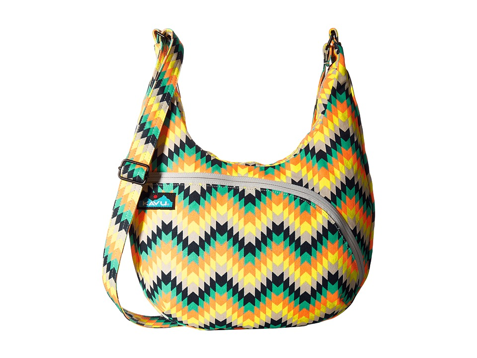 KAVU - Sydney Satchel (Cactus Bloom) Satchel Handbags