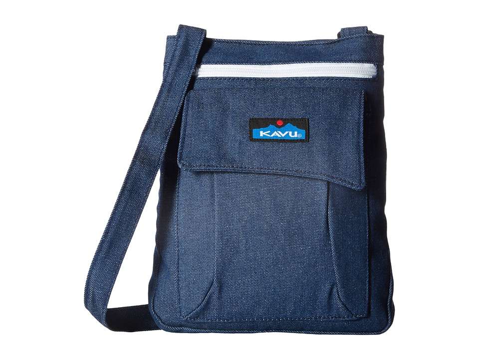 KAVU - Keeper (Denim) Cross Body Handbags
