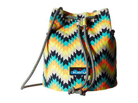 KAVU Bucket Bag - Cactus Bloom