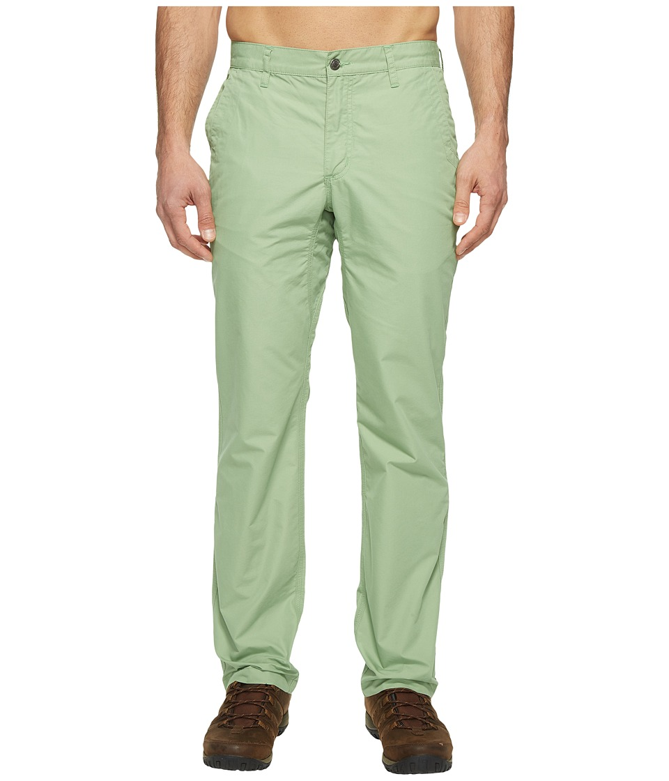Mountain Khakis - Slim Fit Poplin Pant (Sage) Mens Casual Pants