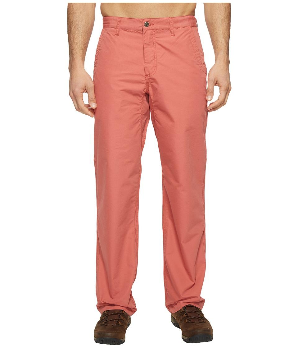 Mountain Khakis Poplin Pant (Rojo) Men