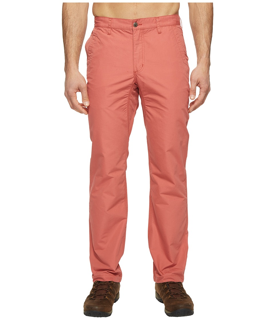 Mountain Khakis Slim Fit Poplin Pant (Rojo) Men