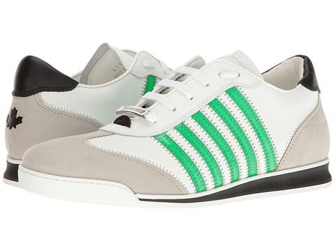 DSQUARED2 New Runner Sneaker - White/Green