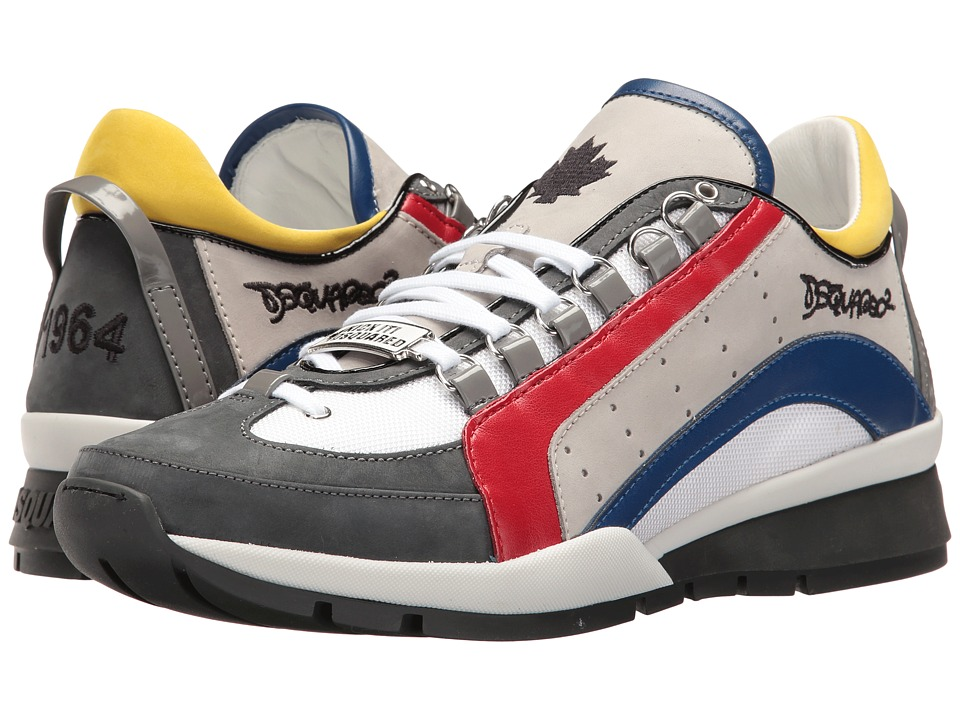 DSQUARED2 551 Sneaker (Red/Blue) Men
