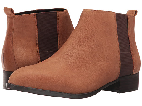 Nine West Nolynn - Cognac/Dark Brown Leather