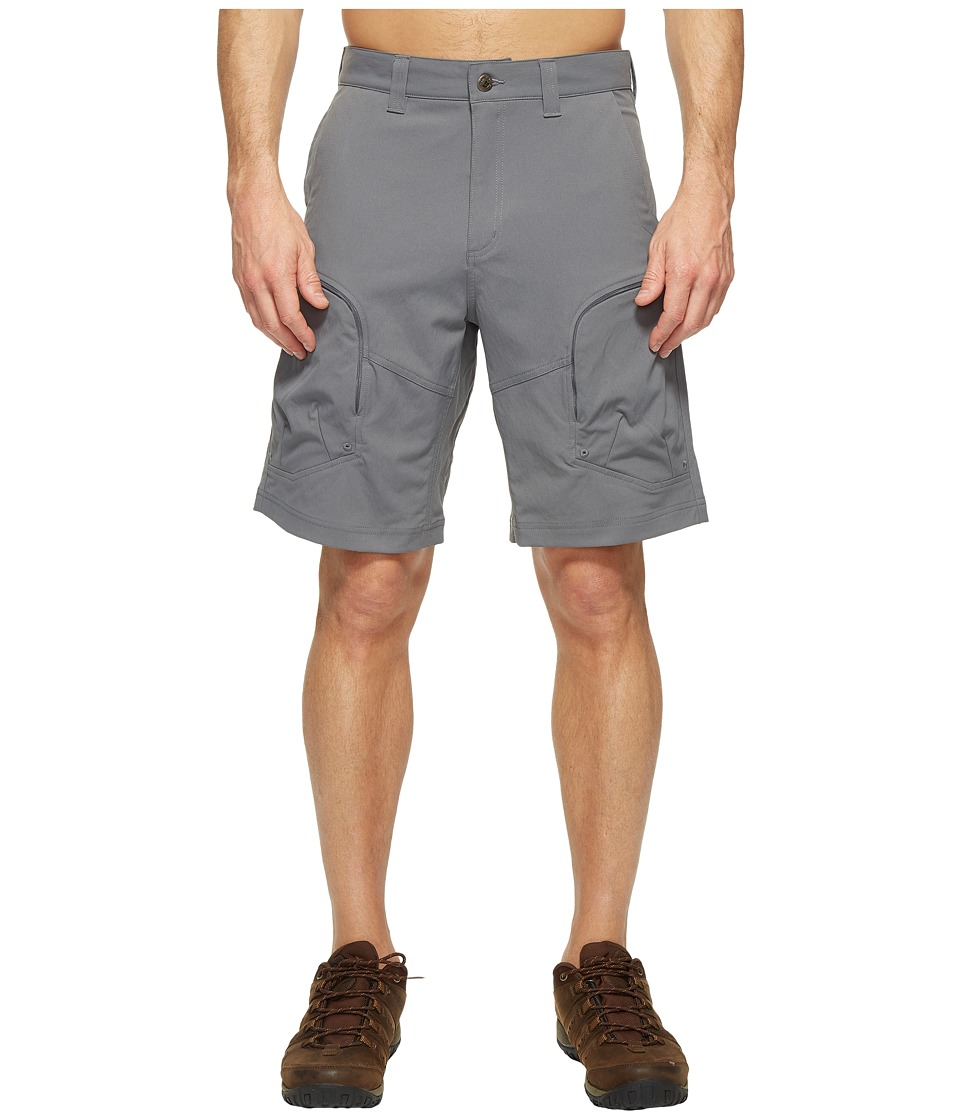 Mountain Khakis - Trail Creek Shorts Relaxed Fit (Gunmetal) Mens Shorts