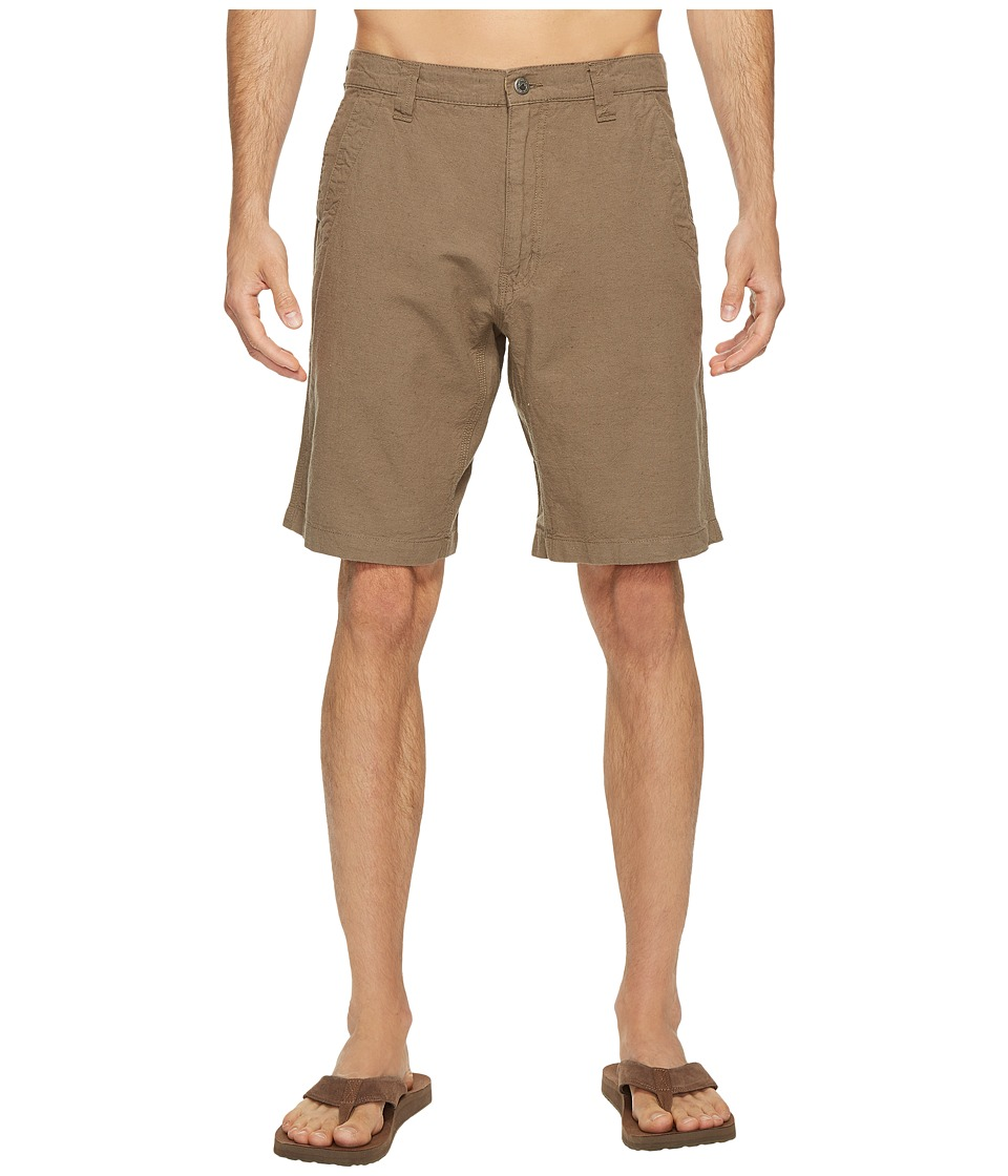 Mountain Khakis - Boardwalk Plaid Short (Firma Solid) Mens Shorts