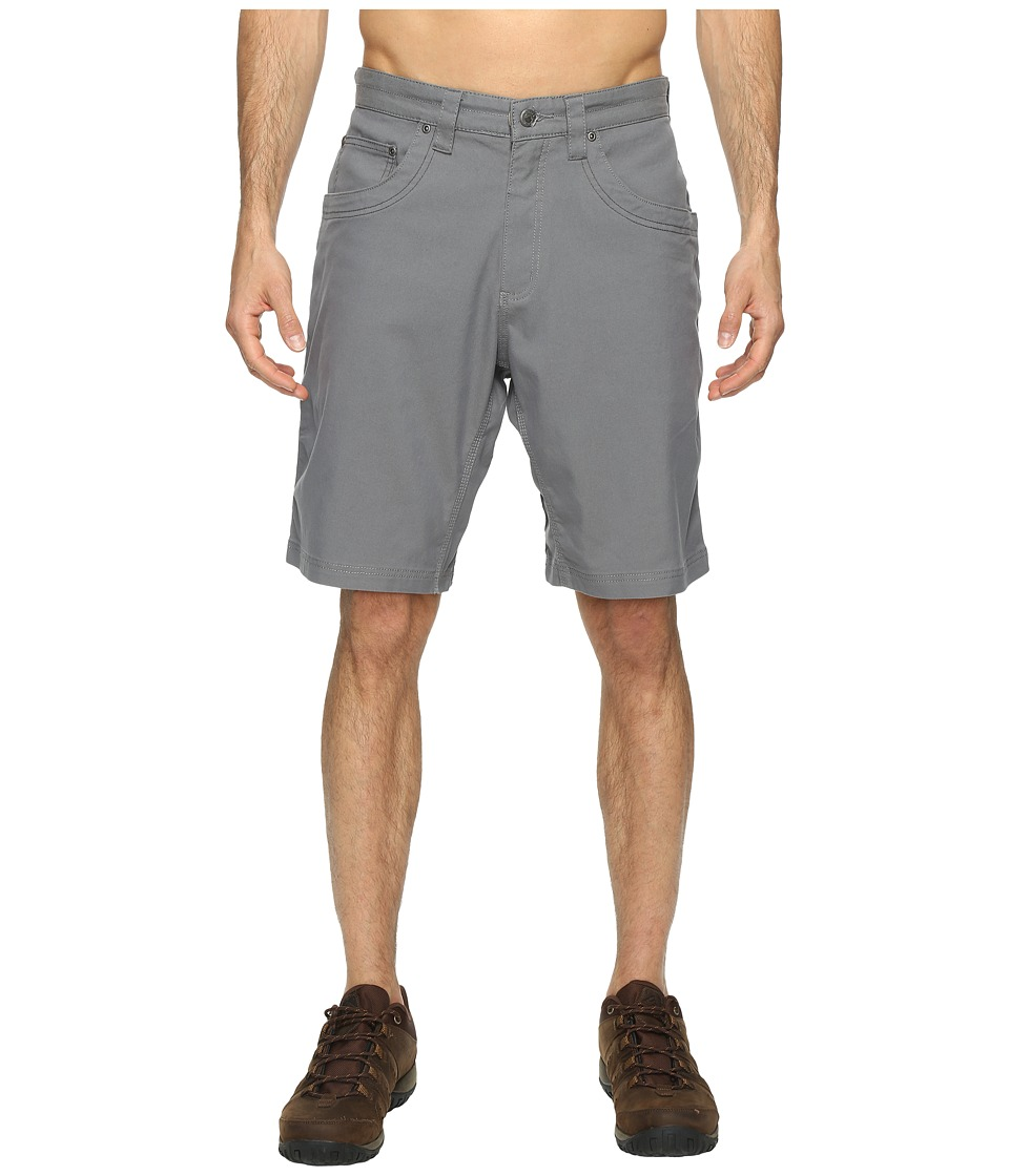 Mountain Khakis - Camber 104 Hybrid Shorts (Gunmetal) Mens Shorts