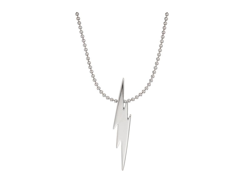 DSQUARED2 - Lightning Bolt Necklace