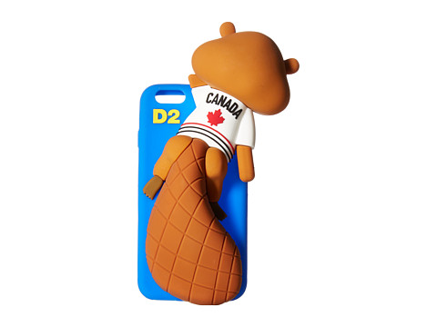 DSQUARED2 Silicone iPhone 6 Chipmunk Cover