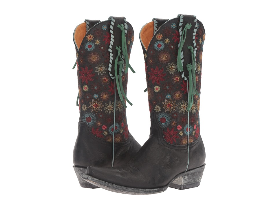 Old Gringo Lorre (Black) Cowboy Boots