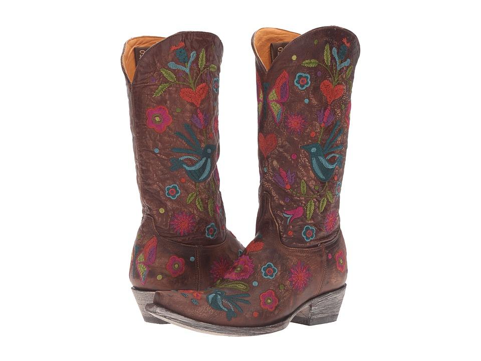 Old Gringo Pajaro (Brass) Cowboy Boots
