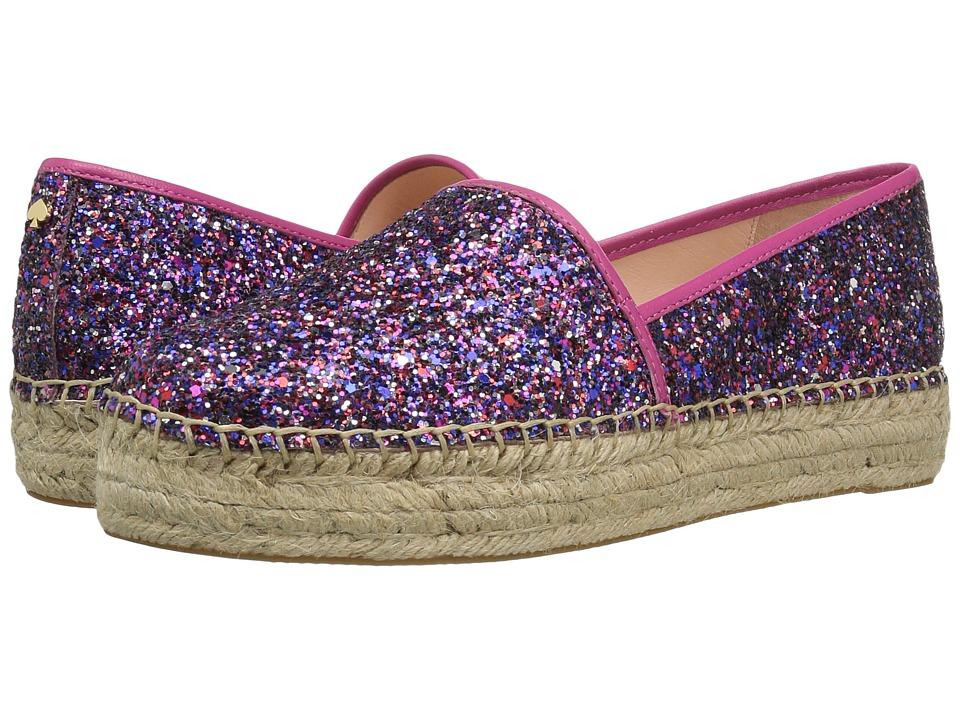 Kate Spade New York Linds Too (Purple Glitter/Fuchsia Nappa) Women