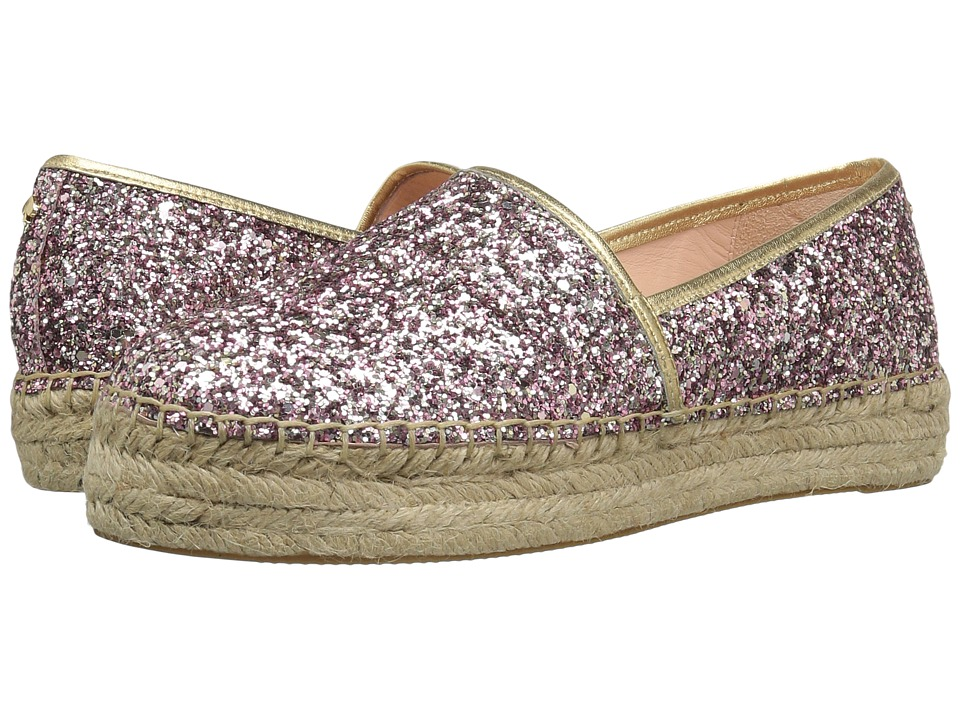 Kate Spade New York Linds Too (Rose Gold Glitter/Gold Nappa) Women
