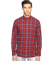DSQUARED2 - Check Cotton Relaxed Dan Button Up