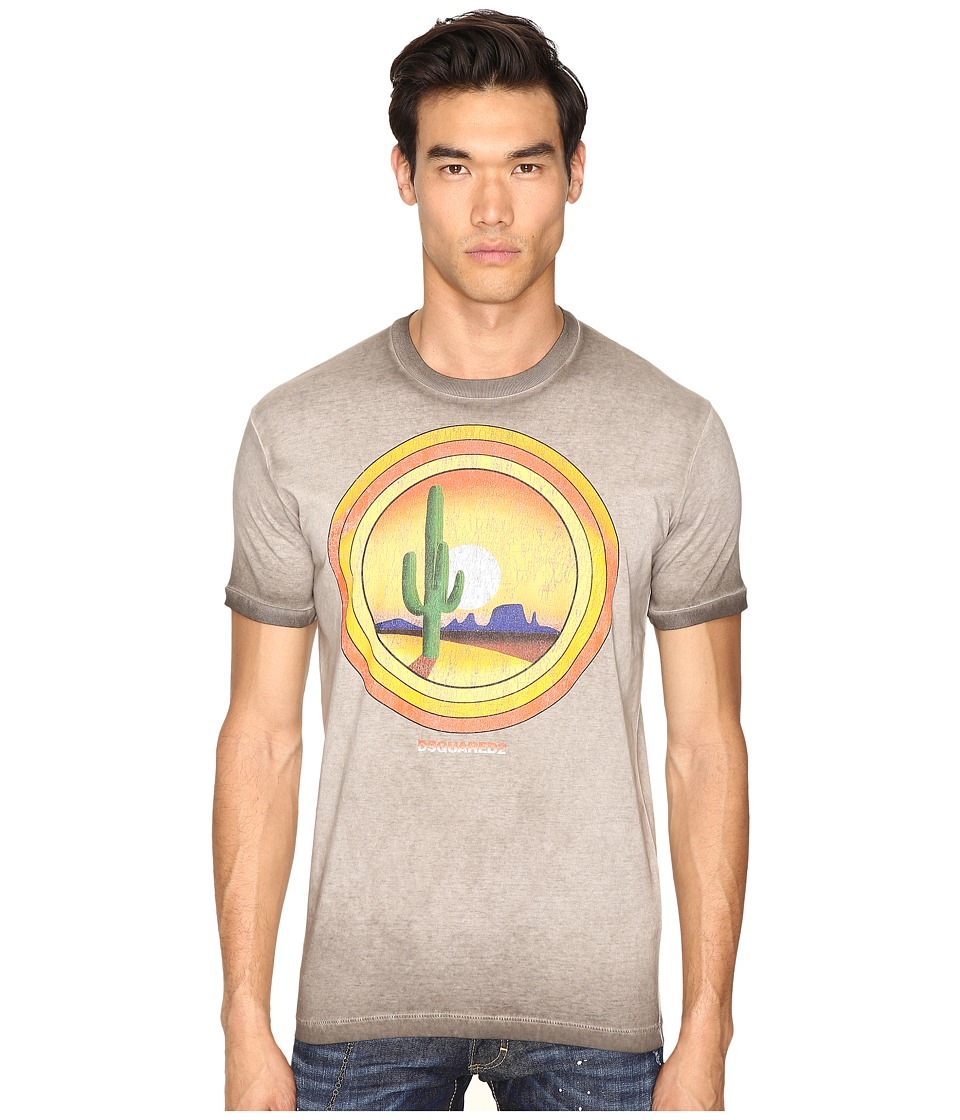 DSQUARED2 American Road Trip T-Shirt (Grey) Men