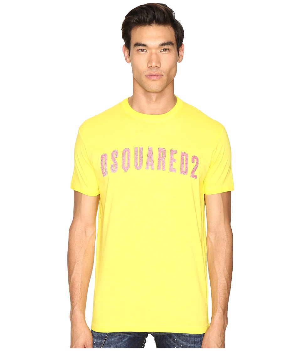 DSQUARED2 Hand Me Down T-Shirt (Yellow) Men