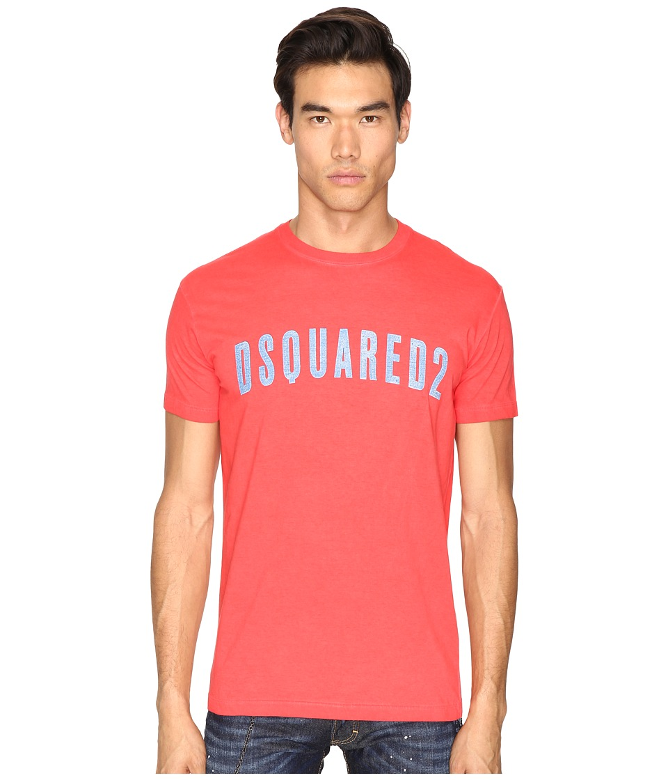 DSQUARED2 Hand Me Down T-Shirt (Red) Men