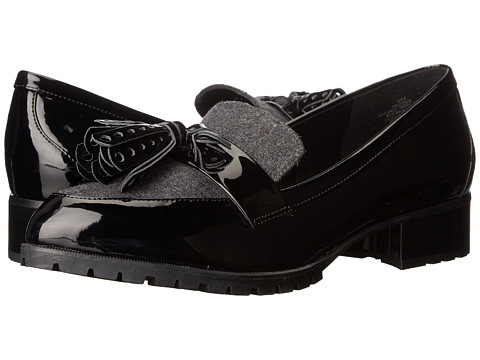 Nine West Leonda 3 - Black/Dark Grey Synthetic 1