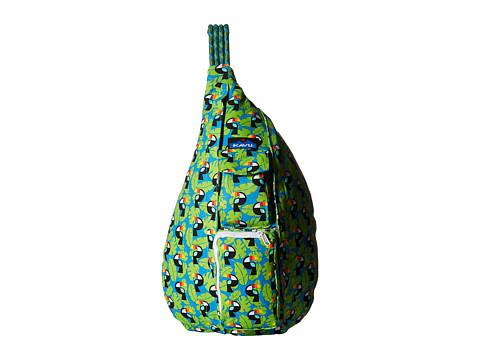 KAVU Rope Bag - Blue Toucan