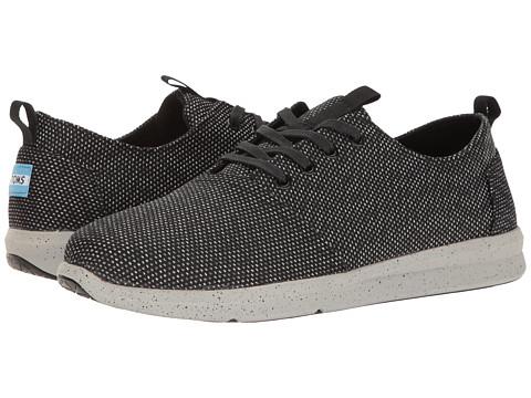 TOMS Del Rey Sneaker - Black/Grey Yarn-Dye