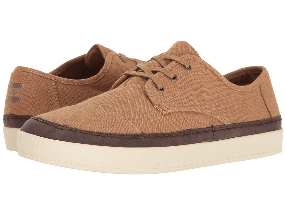 TOMS Paseo Sneaker (Toffee Hemp/Rand) Men