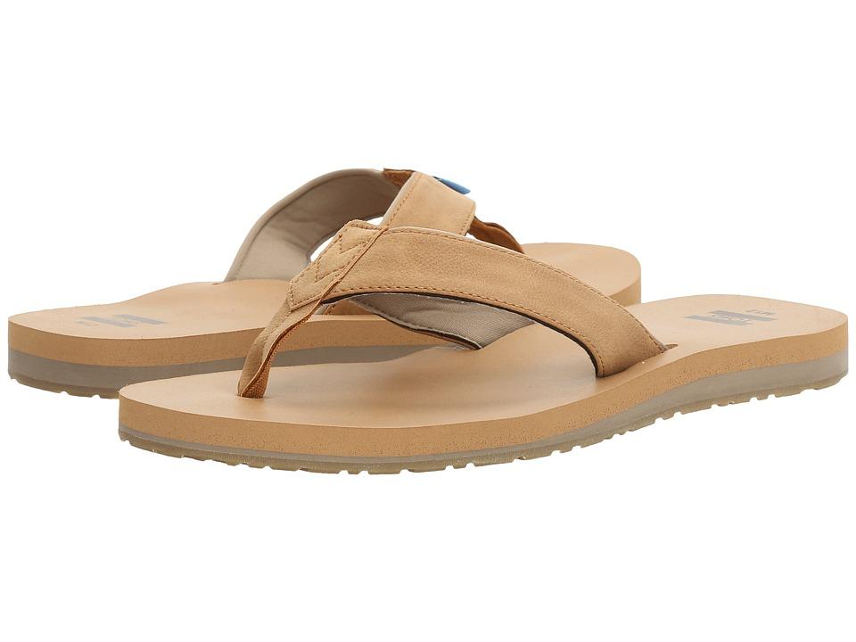 TOMS - Carilo Flip Flop (Toffee Brown) Men's Sandals