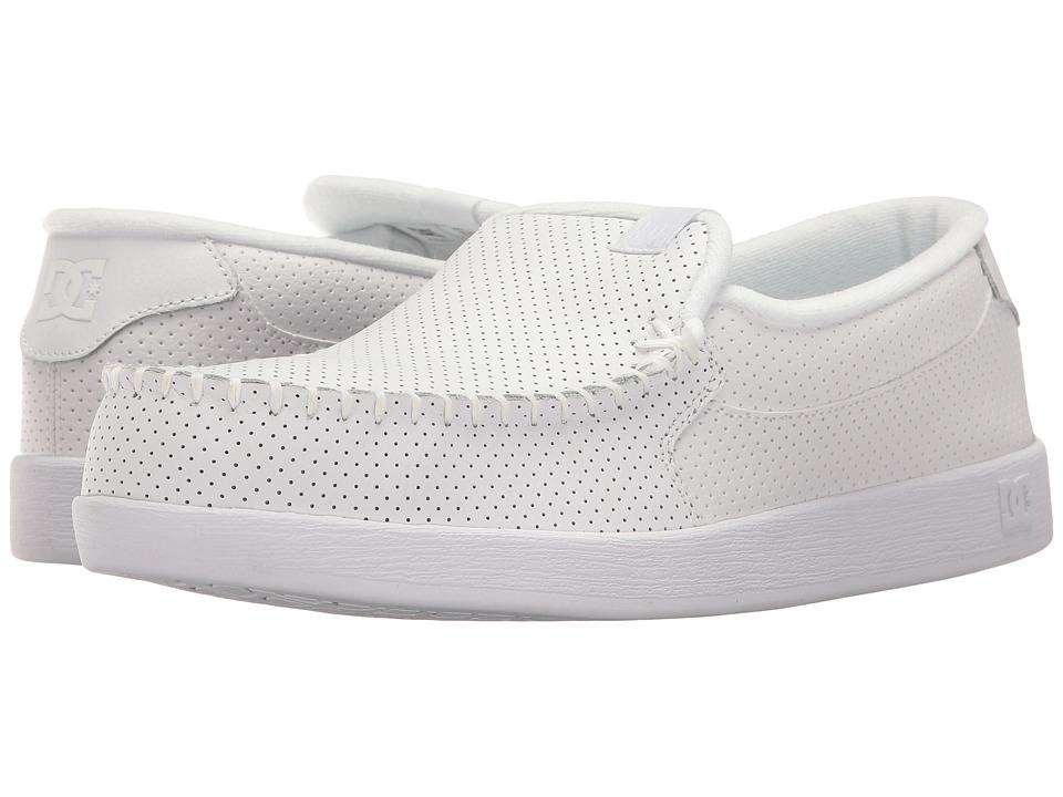 DC - Villain (White) Mens Skate Shoes