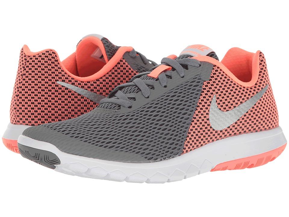 Nike - Flex Experience RN 6 (Cool Grey/Metallic Silver/Lava Glow) Women's Running Shoes