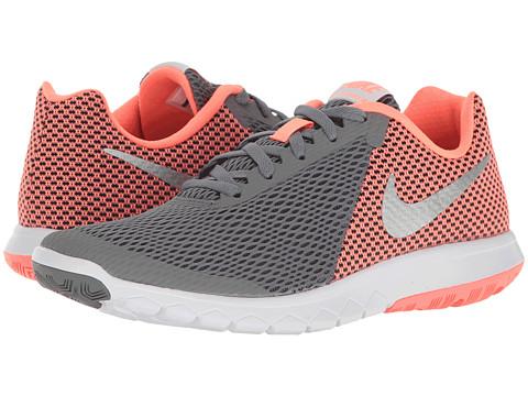 Nike Flex Experience RN 6 - Cool Grey/Metallic Silver/Lava Glow