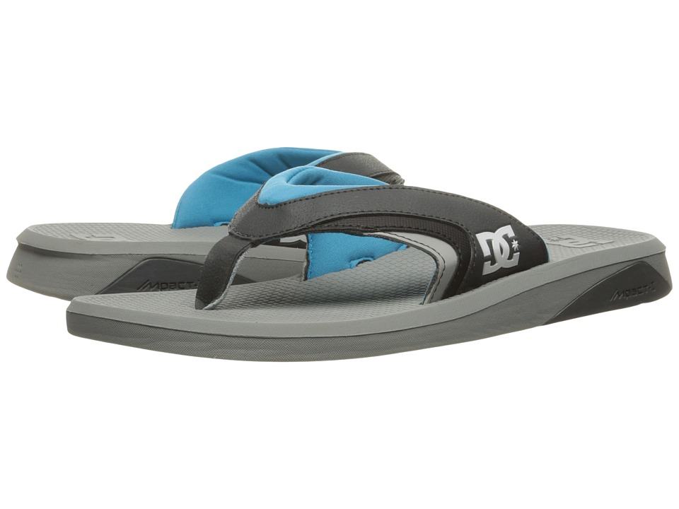 DC Recoil By Bruce Irons (Grey/Blue) Men