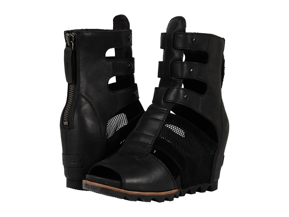 SOREL Joanie Gladiator (Black) Women