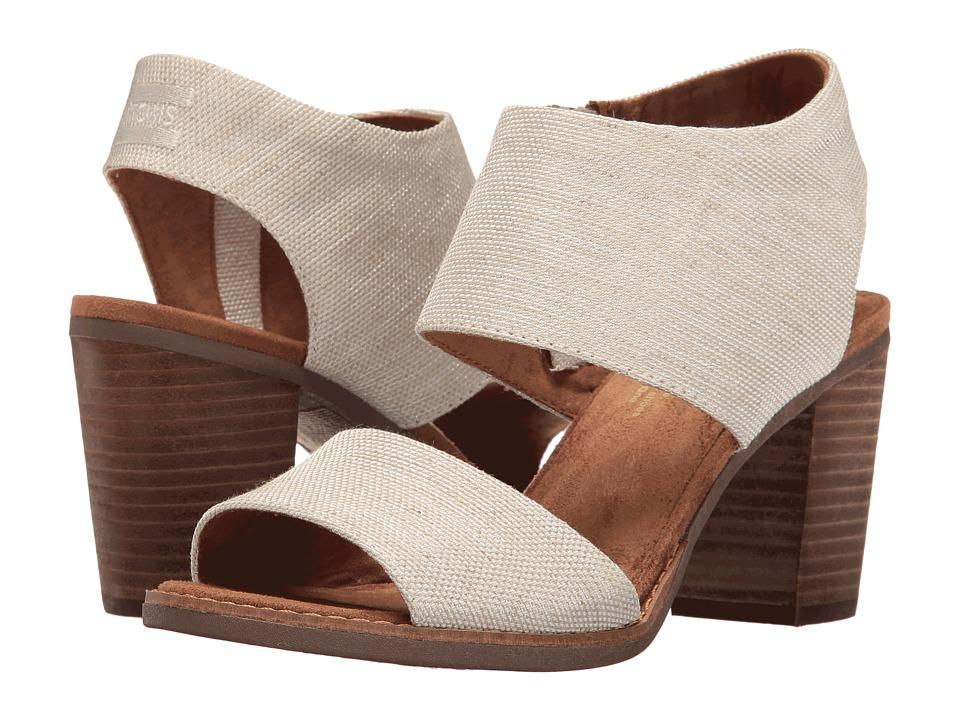 TOMS Majorca Cutout Sandal (Natural Yarn-Dye) Women